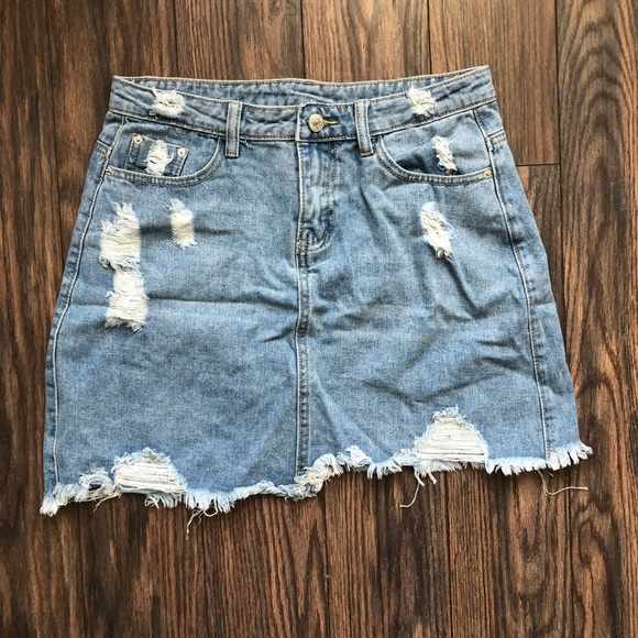 f1942ff1c2 NWOT SHEIN Denim Mini Skirt. M_5c0d7d6ed6dc5206aed19868